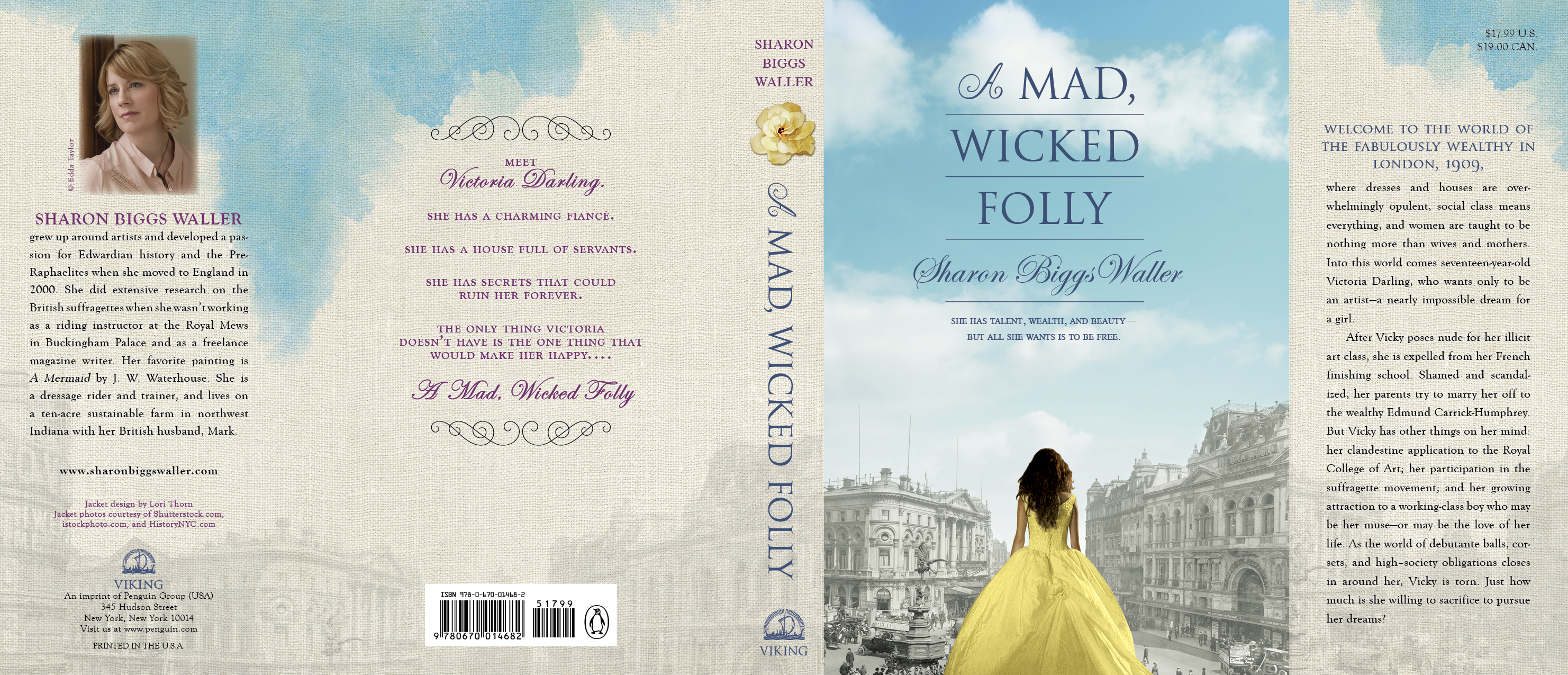 A Mad, Wicked Folly's first pass jacket.