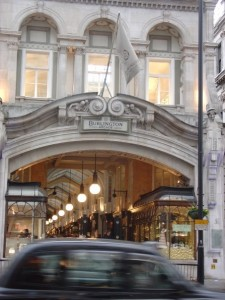 The Burlington Arcade
