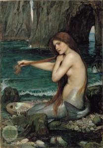 A Mermaid, J.W. Waterhouse